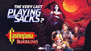 Castlevania Bloodlines - Playing with Sacks