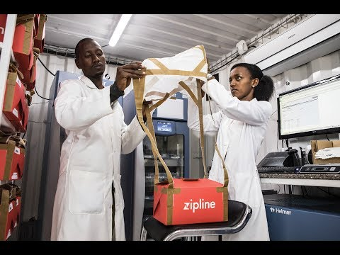 Blood from the Sky: Zipline's Ambitious Medical Drone Delivery Plan