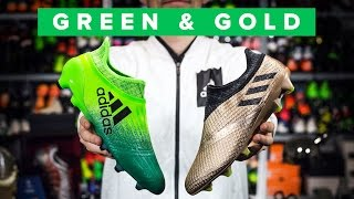 NEW X16+ and MESSI TURBOCHARGE BOOTS | adidas Purechaos & Pureagility