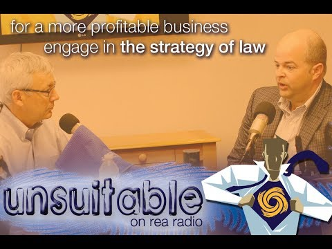 082 | For A More Profitable Business, Engage In The Strategy Of Law | unsuitable on Rea Radio