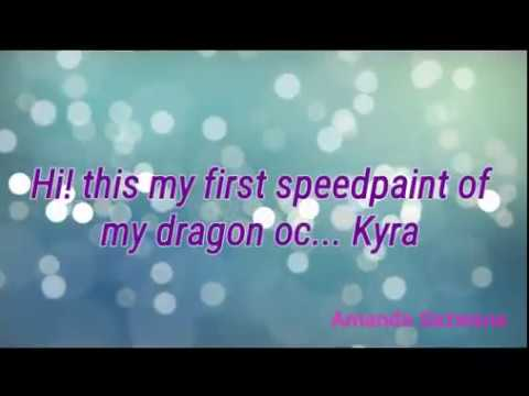 Oc SpeedPaint (Kyra) // using ibis paint x & power director//