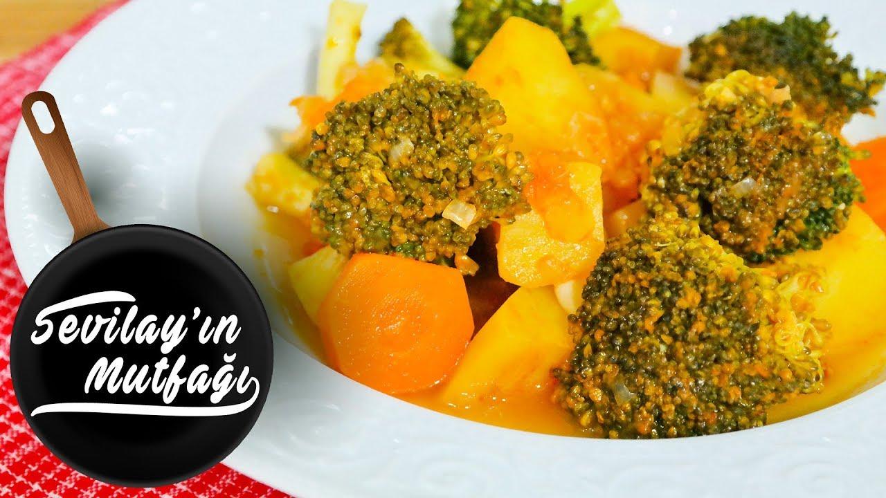 Zeytinyağlı Brokoli Yemeği Nasıl Yapılır? | Zeytinyağlı Brokoli Yemeği Tarifi