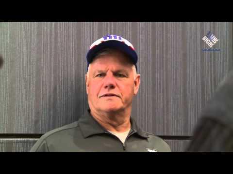 OL Coach Pat Flaherty on starting rookie O-linemen