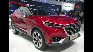 FAW BESTURN X6 SUV CONCEPT BODY SPORTY DEBUTS ON THE BEIJING AUTO SHOW