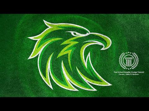 eagle logo design tutorial esports team logo adobe illustrator