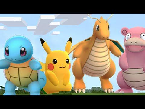 MINECRAFT vs Pokemon GO! - Видео из Майнкрафт (Minecraft)