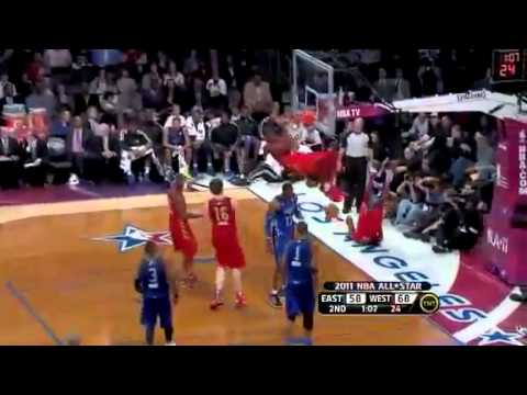NBA's Best All-Star Game Plays Of The Decade - YouTube