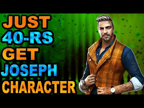 How To Top Up 1 Diamond And Get Joseph Character Free In