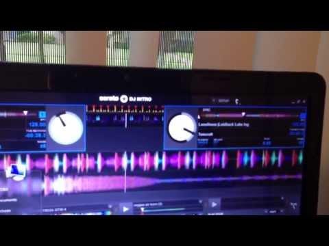 DELL LAPTOP RUNNING SERATO DJ INTRO AND SERATO DJ PERFECT..!