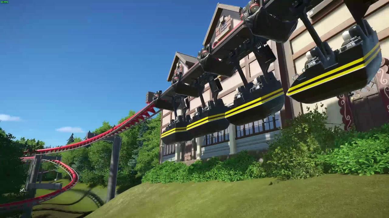 Big Bad Wolf Roller Coaster Busch Gardens Williamsburg Garden Ftempo