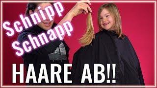 Selbst die Haare schneiden! Kinder Haarschnitt mit LUNA!!! Chit Chat und Schritt für Schritt