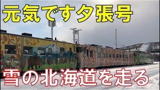 冬の臨時列車3本・雪の北海道を走る姿はなまら元気だべ LOVE HOKKAIDO!