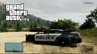 GTA V: HERE COME THE COPS- GTA Online Heists