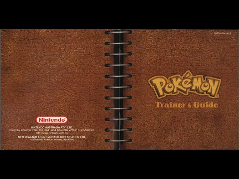 pok mon yellow game manual gb instruction booklet youtube rh youtube com Ash Pokemon Black and White Black and White Pokemon Coloring Pages