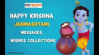 Krishna Janmashtami Messages | Happy Janmashtami Wishes, Images, Whatsapp Status