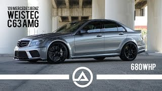 Euro Muscle | Agro AMG Weistec Built C63 | 680 wheel hp