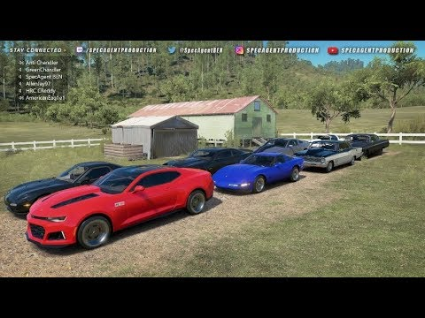 Forza Horizon 3 - Livestream | Invitational Cash Days - Bracket & Grudge Racing w/ AER, HRC, & WPR