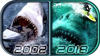 EVOLUTION of MEGALODON in Movies & TV (2002-2018) The Meg full movie movie scene megalodon attack