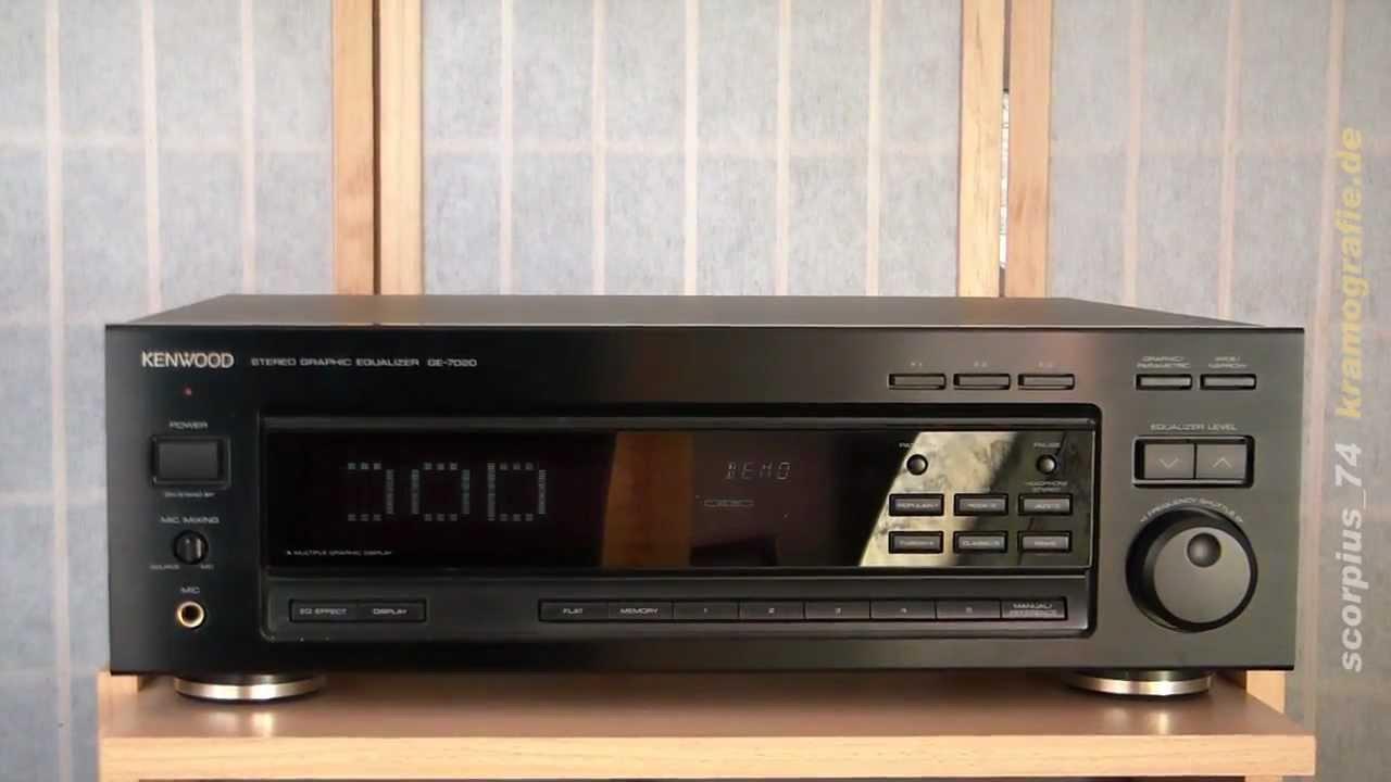 kenwood ge 7020 graphic equalizer youtube rh youtube com Audio Equalizer Best Home Stereo Equalizer