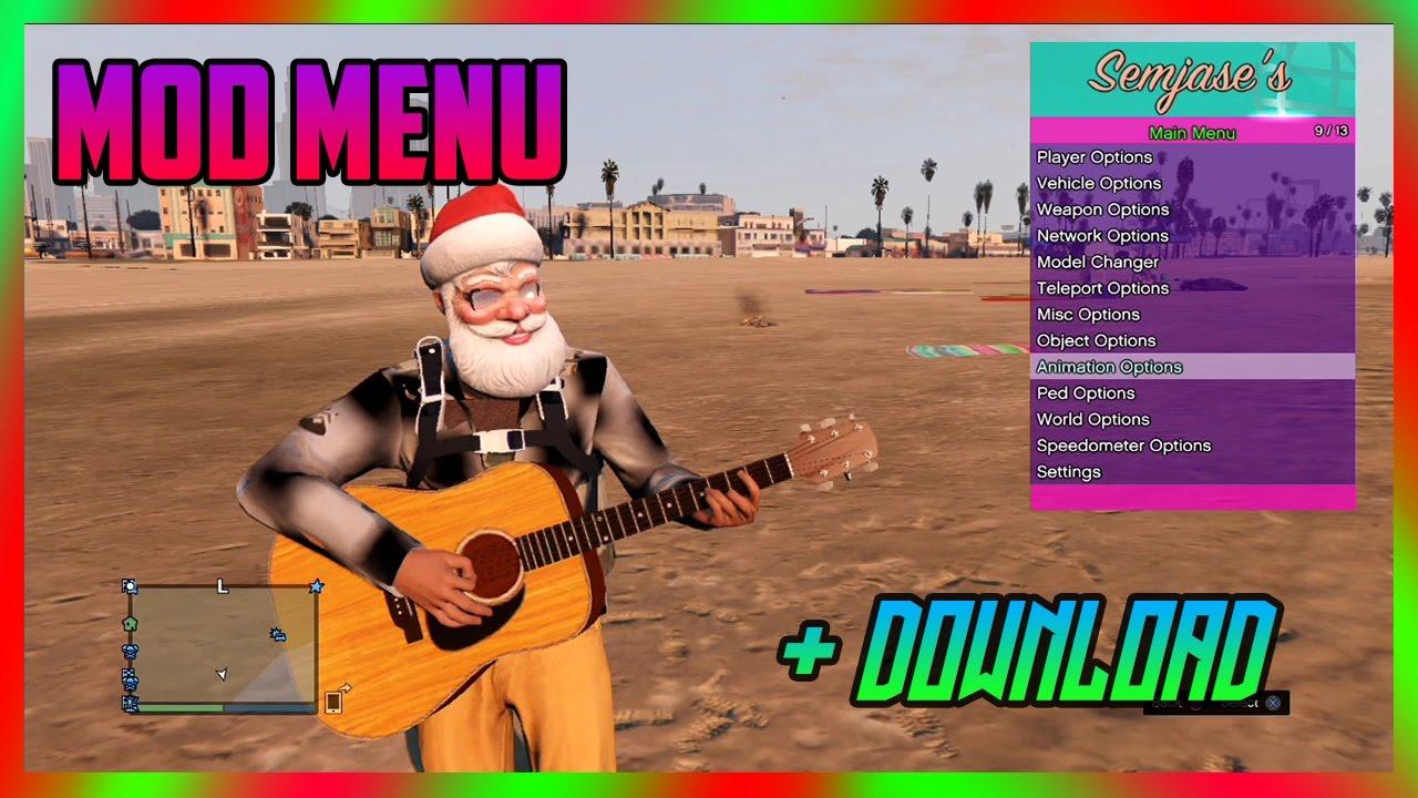 [PS3/1 27/1 28] Best Mod Menu - Semjases 2 1 Sprx + Download (GTA 5 MODS)