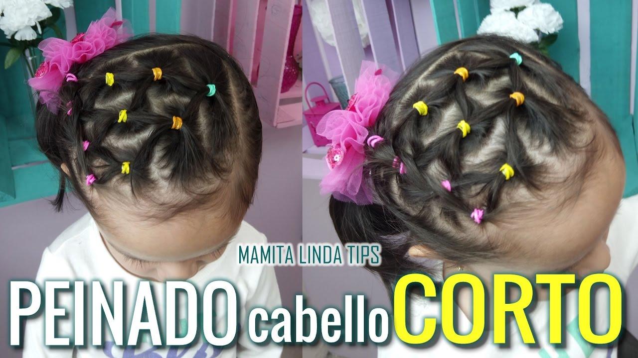 Peinado Para Nina Cabello Corto Mamita Linda Tips Youtube