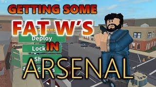 Emu SWIPES SOME W et silencieusement Rages à Arsenal! (Roblox Arsenal Gameplay)