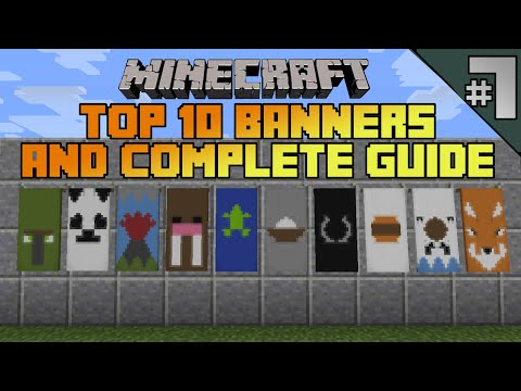 how to make end drangon banner in minecraft