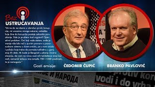 BEZ USTRUČAVANJA: Korupcija postaje zakonito ponašanje - Čedomir Čupić i Branko Pavlović