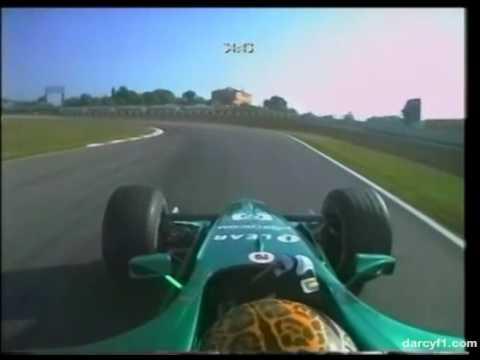 F1 Catalunya 2000 - Eddie Irvine Onboard
