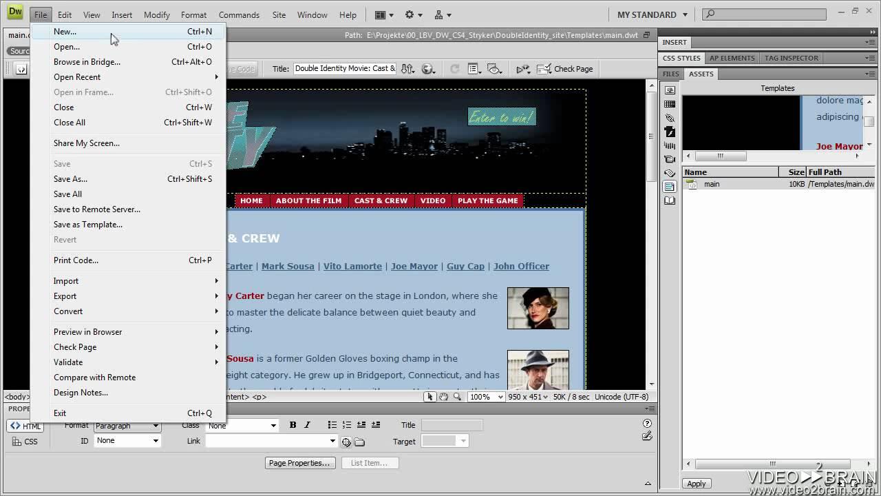 Dreamweaver template not updating cs4