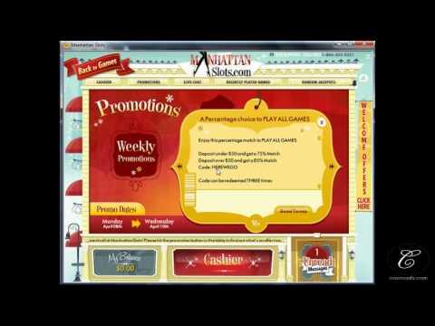 USA Online Casino - Manhattan Slots