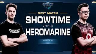 HeroMarine vs ShoWTimE TvP - Group B Winners - WCS Challenger EU Season 2