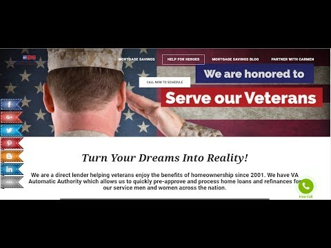 Help For Heroes VA & Government Employee Loan Program- Available In All States