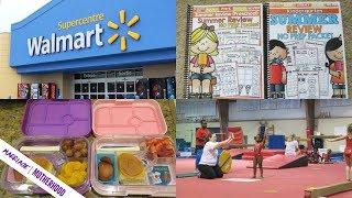 SUNDAY SETUP  Working Mom Weekly Prep  Walmart Haul  Summer Learning Plans
