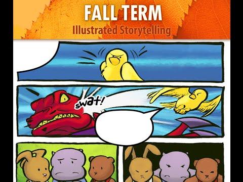 Illustrated Storytelling for adults - Ann Arbor Art Center