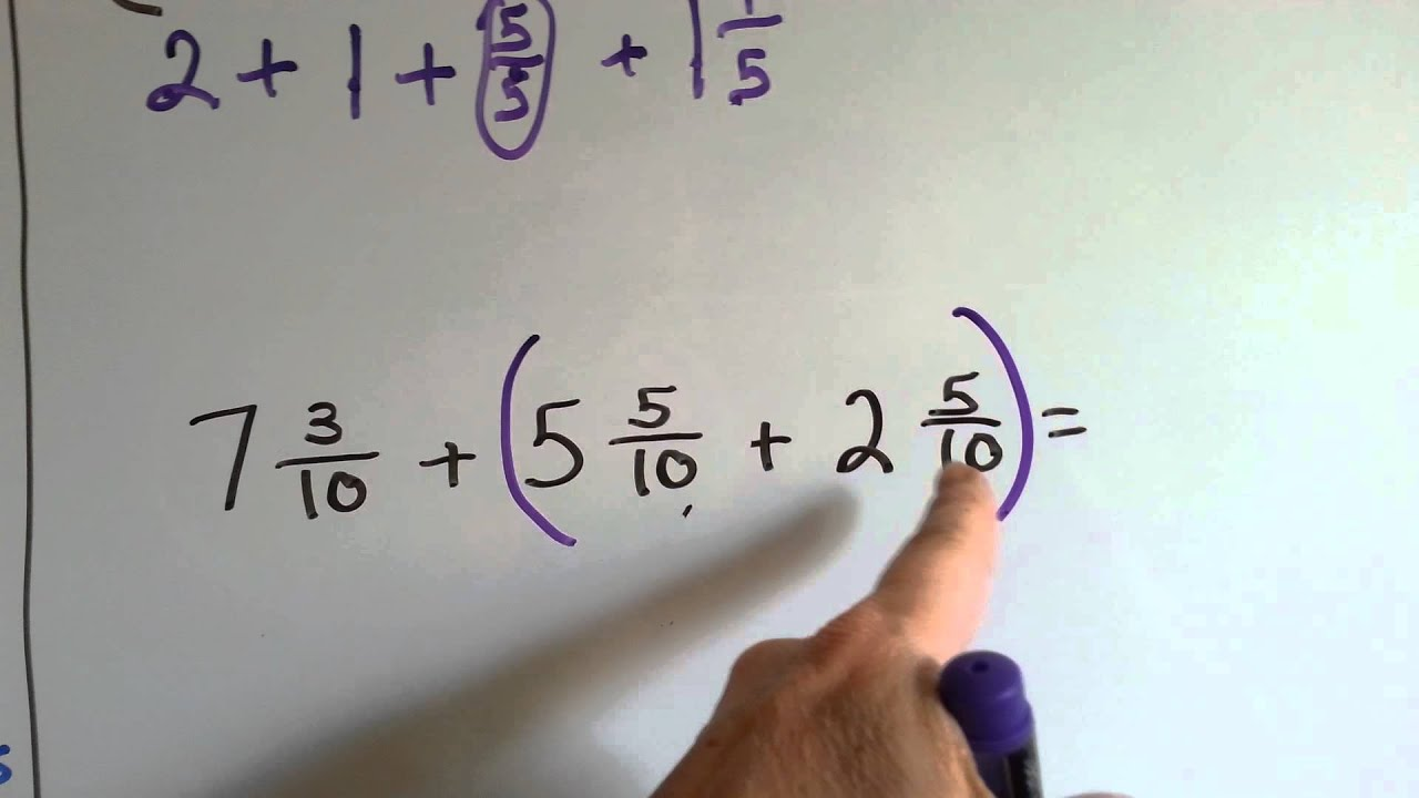 Grade 4 Math 7 9 Fractions And Properties Of Addition
