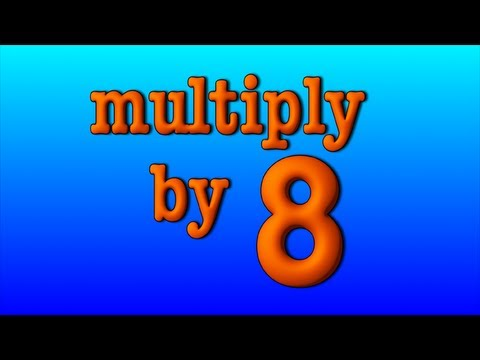 Multiply by 8 youtube for 12 times table song youtube