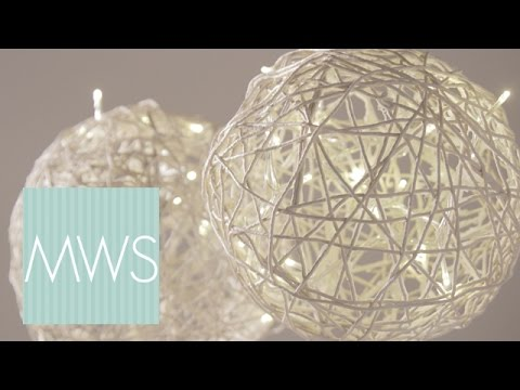 String Ball Wedding Decorations | Maid At Home 3