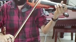 Enkeyoo Partha - Yaaradi Nee Mohini | Violin Cover | KrishnaRajViolin