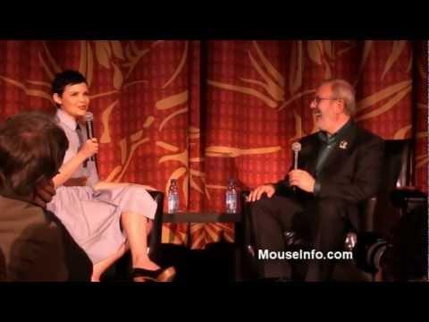 Ginnifer Goodwin panel interview with Leonard Maltin