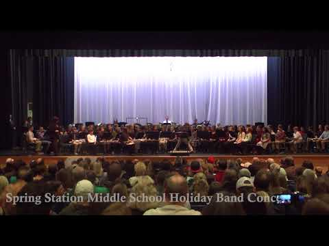 Spring Station Middle School Winter Band Concert