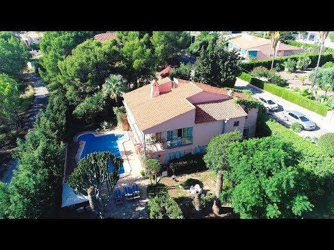 Испанский дом в престижной урбанизации Coblanca города Benidorm, продажа недвижимости в Испании
