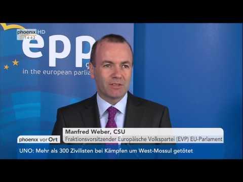 Brexit-Antrag: Statement von Manfred Weber am 28.03.2017
