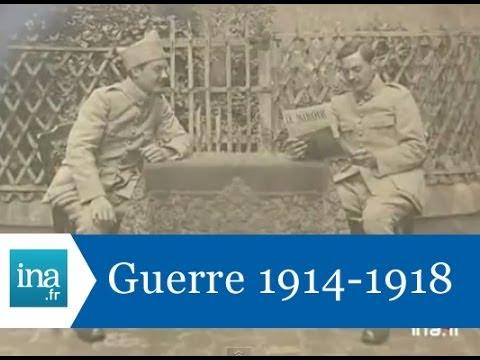 Paroles de poilus, témoignages sur la première guerre mondiale - Archive INA