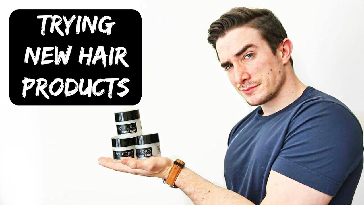 feb5b20fd Trying New Hair Products - Pete & Pedro Review - YouTube
