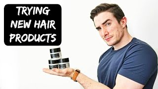 Trying New Hair Products - Pete & Pedro Review