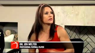 Pro Football Player Dr. Jen Welter - Texas Revolution Running Back