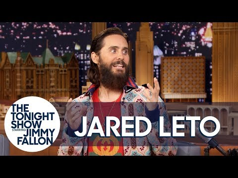 Jared Leto Ziplined into a Thirty Seconds to Mars Concert