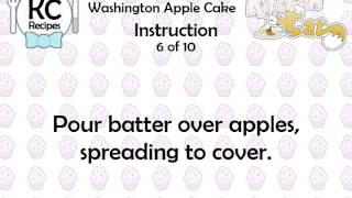 Washington Apple Cake - Kitchen Cat