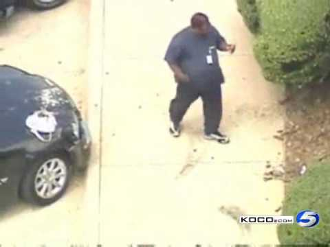 Raw Video: Edmond Post Office Crash